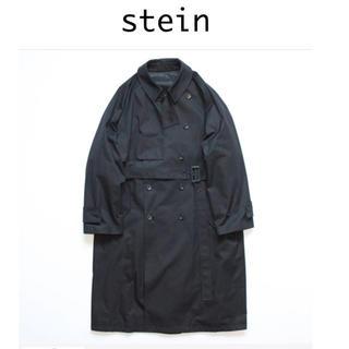 サンシー(SUNSEA)のstein lay oversized overlap coat(トレンチコート)