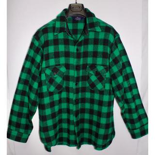 ウールリッチ(WOOLRICH)の[美品] Woolrich ウール リッチ ウールチェックシャツ XL程度(シャツ)
