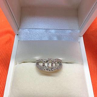 18金ダイヤモンドリング14.5号サイズ(リング(指輪))