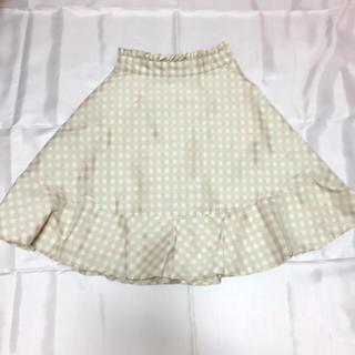 リズリサ(LIZ LISA)のLIZLISA ギンガムチェックスカート(ひざ丈スカート)