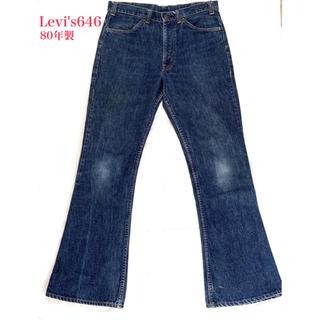 リーバイス(Levi's)のリーバイス646 ヴィンテージデニム 80's 16ボタン(デニム/ジーンズ)