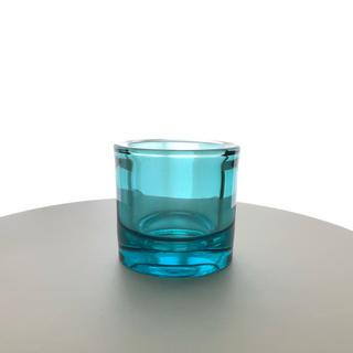 イッタラ(iittala)のiittala × marimekko kivi 80mm シーブルー 廃盤(キャンドル)