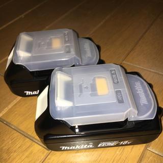 マキタ(Makita)のマキタ  純正 BL1820B  2個セット(バッテリー/充電器)