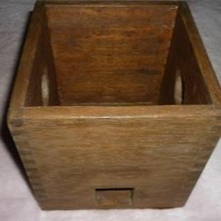 タキイ  HARIKO様専用の木箱ケースです(アイロン)