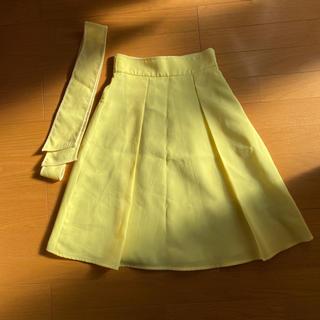 プロポーションボディドレッシング(PROPORTION BODY DRESSING)のプロポイエロースカート(ひざ丈スカート)