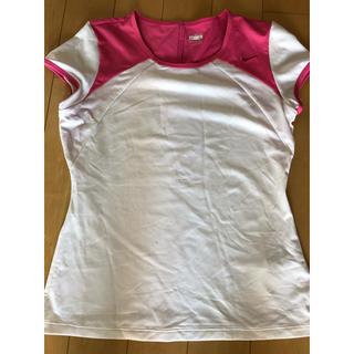 ナイキ(NIKE)のレディーススポーツウェア  Lサイズ(Tシャツ(半袖/袖なし))