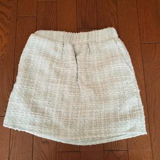 水色 スカート パステルカラー(ミニスカート)