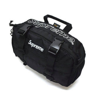 シュプリーム(Supreme)の2019AW 新品 Supreme Waist Bag 黒 19AW 19FW(ウエストポーチ)