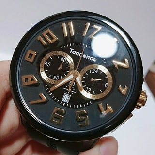 テンデンス(Tendence)のTendence 腕時計 ブラック(腕時計)