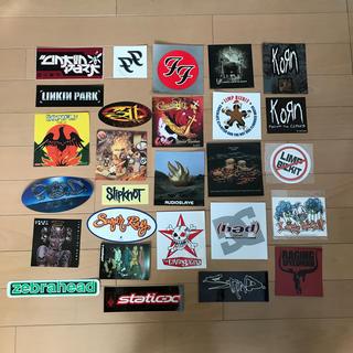 ワンオクロック(ONE OK ROCK)のRock & Hiphop Band Sticker 27点セット(ポップス/ロック(邦楽))