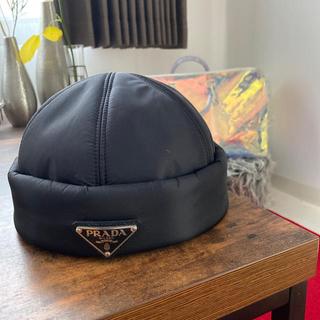 プラダ(PRADA)のPRADAナイロンビーニー(ニット帽/ビーニー)