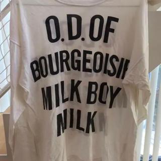 ミルクボーイ(MILKBOY)のO.D. of Bourgeoisie Milk Boy ロングTシャツ(Tシャツ/カットソー(七分/長袖))