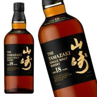 山崎18年 希少(ウイスキー)