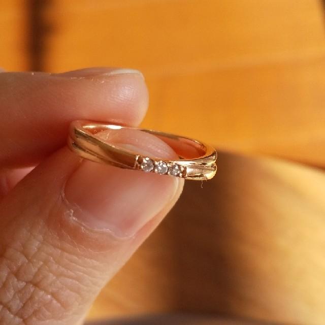 4℃(ヨンドシー)の4℃ ヨンドシー 10kリング 6号 レディースのアクセサリー(リング(指輪))の商品写真