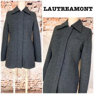 ロートレアモン(LAUTREAMONT)の日本製 ロートレアモン ウールジャケット ジップ開閉 コート(ロングコート)