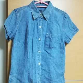 GAP - GAP デニム半袖シャツ