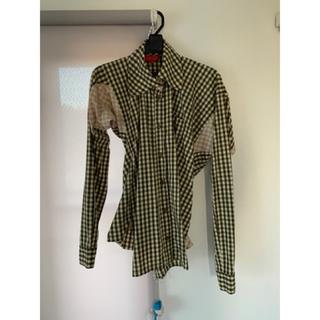 ヴィヴィアンウエストウッド(Vivienne Westwood)のヴィヴィアンウエストウッド 変形チェックシャツ(シャツ/ブラウス(長袖/七分))