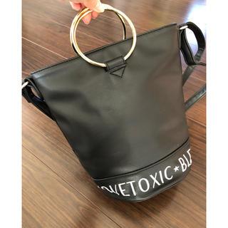 ラブトキシック(lovetoxic)のLOVE TOXIC  バケツ型バッグ 2wayショルダー(ハンドバッグ)