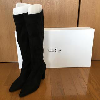 ミラオーウェン(Mila Owen)の新品 ミラオーウェン  ロングブーツ Mサイズ(ブーツ)