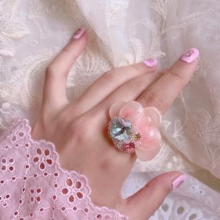 mu-mu フラワービジューリング(リング(指輪))