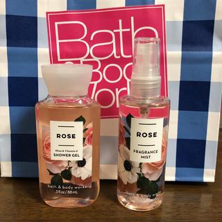バスアンドボディーワークス(Bath & Body Works)のバスアンドボディーワークス☆ ROSE セット(香水(女性用))