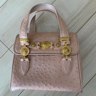 ジャンニヴェルサーチ(Gianni Versace)のピンクゴールドミニバッグ(ハンドバッグ)