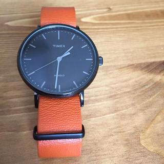 タイメックス(TIMEX)のTIMEX 腕時計 オレンジ(腕時計(アナログ))