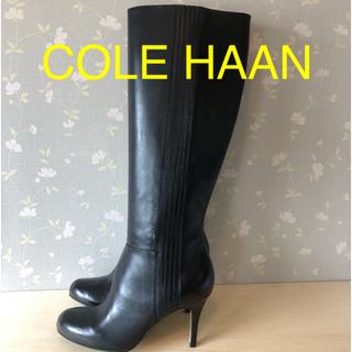 コールハーン(Cole Haan)のCOLE HAAN  コールハーン革ブーツ(ブーツ)