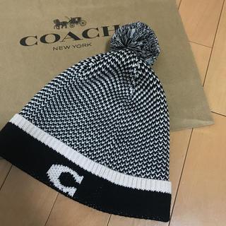 コーチ(COACH)のCOACH コーチ  ニット帽(ニット帽/ビーニー)