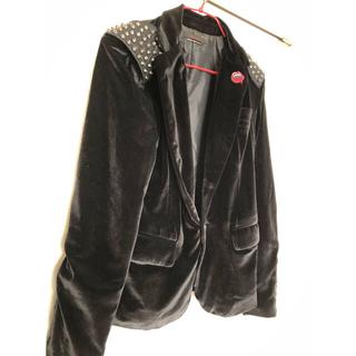 ルグランブルー(LGB)のjury blackジュリーブラックジャケットショルダースタッズ(テーラードジャケット)