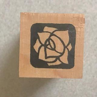 フェリシモ(FELISSIMO)のスタンプ 薔薇(印鑑/スタンプ/朱肉)