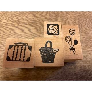 フェリシモ(FELISSIMO)のスタンプ スーツケース(印鑑/スタンプ/朱肉)