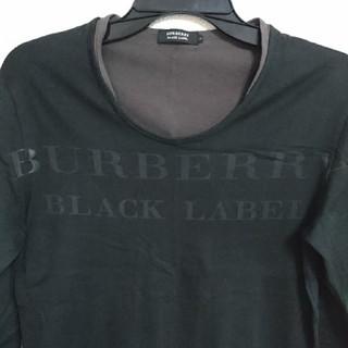 BURBERRY BLACK LABEL - BURBERRY BLACK LABEL ロンT バーバリーブラックレーベル