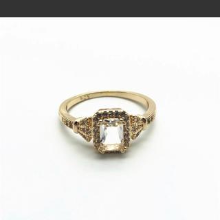 指輪 リング ゴールド 金 メンズ レディース  925 刻印 新品(リング(指輪))