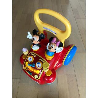 ディズニー(Disney)の☆Disney ディズニー トゥーンタウン あっちこっちウォーカー 手押し車☆(手押し車/カタカタ)