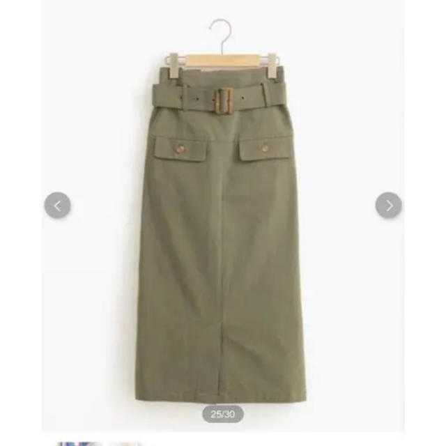 MAJESTIC LEGON(マジェスティックレゴン)のIラインスカート レディースのスカート(ひざ丈スカート)の商品写真