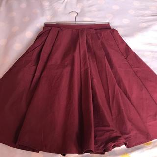 ナチュラルビューティーベーシック(NATURAL BEAUTY BASIC)のロング フレア スカート(ロングスカート)