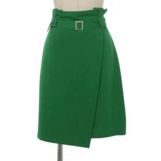 ティティアンドコー(titty&co)のグリーンスカート(ひざ丈スカート)