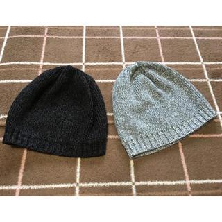 ユニクロ(UNIQLO)の毛糸の帽子(帽子)