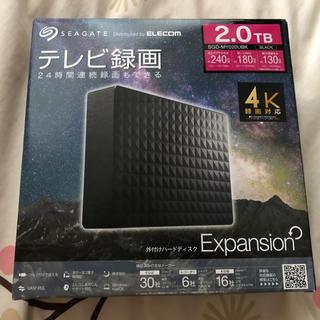 エレコム(ELECOM)の外付けHDD 2TB(PC周辺機器)