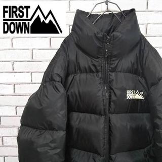 First Down ダウンジャケット 90年代 L(ダウンジャケット)