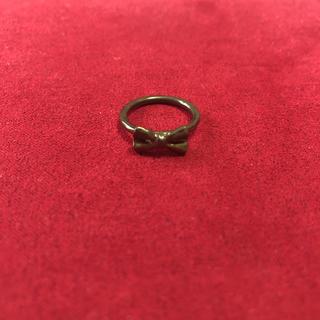 ハートマーケット(Heart Market)のリボン レトロ  ピンキーリング 指輪(リング(指輪))