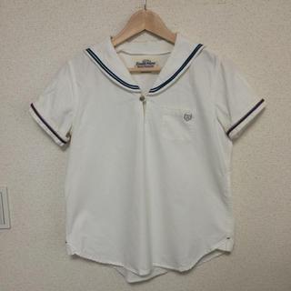 ダブルネーム(DOUBLE NAME)のDOUBLE NAME  セーラーシャツ(シャツ/ブラウス(半袖/袖なし))