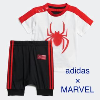 アディダス(adidas)のadidas MARVEL キッズ70(Tシャツ)