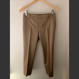 TOMORROWLAND - 【トゥモローランド】Ballsy 上質な光沢☆大人のブラウン色8部丈パンツ