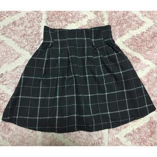 ティティアンドコー(titty&co)のチェック柄フレアスカート☆titty&co.(ミニスカート)