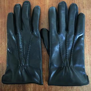 ポロラルフローレン(POLO RALPH LAUREN)のポロラルフローレン  レザーグローブ 革手袋 レザー手袋(手袋)