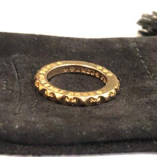 クロムハーツ(Chrome Hearts)のクロムハーツ ◆ 22Kゴールド製 トゥルーファッキンパンクプラスリング 10号(リング(指輪))