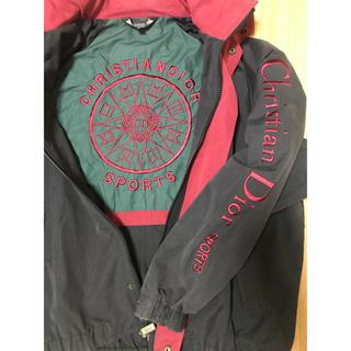 クリスチャンディオール(Christian Dior)のChristian Dior セーリング  ジャケット デカ ロゴ(ナイロンジャケット)