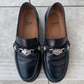 TOGA - TOGA VIRILIS PULLA ローファー 革靴 メタル 41